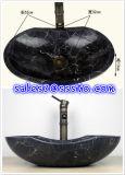Black Negro Marquina Marble Wash Basin