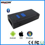 Wireless Bluetooth Mini Barcode Reader, Portable Barcode Scanner, Support iPad/iPhone/Smartphone/PC, Mj2850