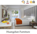 Foshan Furniture Fresh Design Wooden Hotel Bedroom Furniture (HD409)
