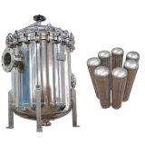 High Temperture Stainless Steel Multi Housing Bag Filter