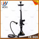 M2 Submachine Gun Modelling Water Pipes Resin Hookah Electroplating Process Water Shisha Tobacco Bowl of Black