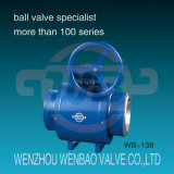 API 6D Trunnion Mounted Ball Valve for Oil and Gas