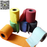 Solid Colorful Tissue Printed Toilet Paper