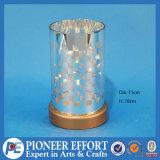 Delicate Christmas Glass Lantern LED Decoration