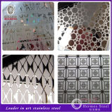 Hot Sale Mirror Silver Etching TV Screen Stainless Steel Sheet