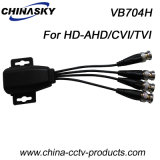 4CH Connectable CCTV UTP Video Balun for HD-Ahd/Cvi/Tvi (VB704H)