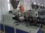 High Efficiency Conical Twin Screw Plastic Extruder Machine