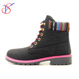 2016 New Style Man Women Work Boots Shoes for Job with Quick Release (SVWK-1609-032 BLK)