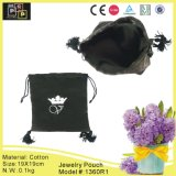 Classic Drawstring Fabric Jewelry Pouch (1360R1)
