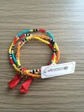 Colorful Bracelet with Fabric Fashion Jewellery