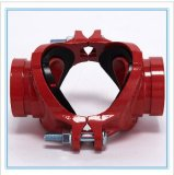 China Factory Ductile Iron Grooved Mechanical Cross for Fire Fighting FM/UL/Ce