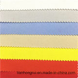 CVC 75/24/1 Flame Retardant Anti-Static Fluorescence Twill Fabric for Hi-Vis Vest