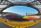 Comfortable Eco-Friendly Outdoor Stadium Synthetic Prefabricated Rubber Athletic Track