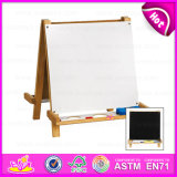 2015 New Design Multifunctional Drawing Board, Children Wooden Drawing Board, Wooden Stand for Drawing Board for Promotion W12b019