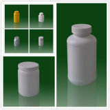 Professional Medicine Plastic Bottle Packaging / Pill Bottles with Screw Cap