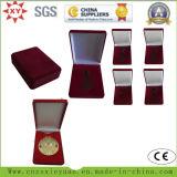 Custom Velvet and Wood Box for Medal