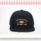 3D Embroidery Snapback Hats with Leather Brim