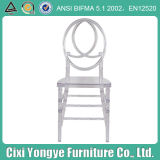Clear Resin Plastic Phoenix Chair for Rental Wedding Party