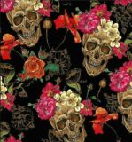 Tsautop New Style 0.5m/1m Width Skull and Flame Water Transfer Printing Films Hydrographic Film Aqua Print Tskw060