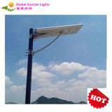 40W Integrated LED Solar Street Lamp with Motion Sensor