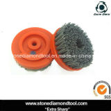 Diamond Strong Steel Wire Brushes for Granite/Marble Floor