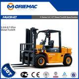 China Huahe Big Forklift 5 Tons Diesel Forklift Hh50