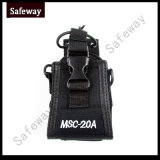 Msc-20A Leather Case Pouch for Two Way Radio