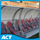 Steel Frame Anti-UV Soccer Substitute Bench for Outdoor Playground