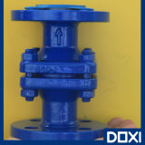 PTFE/ PFA/FEP Lined Vertical Floating Ball Check Valve