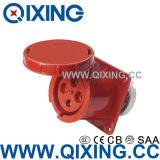 Waterproof IEC309-2 3p+N+E Industrial Plug Socket AC 380-415V 63A AMP