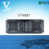 Vt4887 3-Way Dual 8inch Line Array Sound System Made in China
