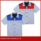 Wholesale Fashion Design Cheap Cotton Polyester Working Wear Manufacturer (W115)