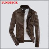 Men′s High Quality PU Jacket Fashion Coat