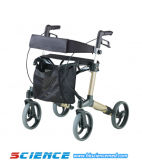 Aluminum Walking Aid Rollator Disabled People Rollator Sc-805A