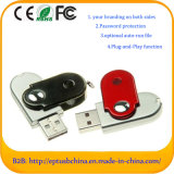 Metal Swivel USB Stick Customized Logo 8GB USB Flash Memory