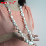 100cm Long Large Baroque Freshwater Pearl Necklace for Wholesale (E130134)