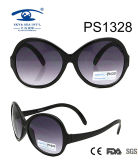 Large Black Frame Colorful Children Kid Plastic Sunglasses (PS1328)