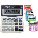 Various Color 12 Digits Dual Power Medium Size Desktop Calculator (LC209A)