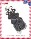 Brazilian Hair Center Part Body Wave Lace Top Closure