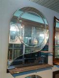 Modern Bathroom Mirror with Glass Shelf and Light (JINBO)