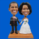 Gifts Polyresin of Couple Bobbleheads Crafts