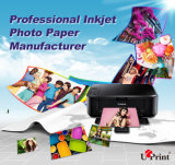 Factory Sell High Quality Wide Format Inkjet Photo Paper Roll Digital Printing Media