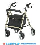 Aluminum Walking Aid Rollator Elderly Rollator
