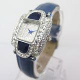 Diamond Case Alloy Watch Fashion Cheap Hot Watch (HL-CD021)
