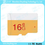 New Design White and Yellow 16GB Class 10 Micro SD Memory Card (ZYF6032)