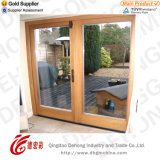 Popular Design Aluminium Door with Tempered Glass