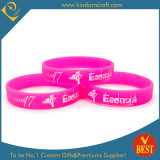 Custom Wholesale Printed Silicon Wristband with Solid Color