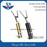 High End Quality Stainless Steel Bullet Pendant for Lovers
