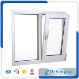 Fashion Residential PVC Window with 5mm Single Glass