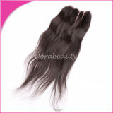Wholesale Indian Straight Natural Color Lace Closure Human Virgin Hair